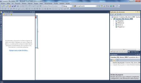 SQL Server 2008 Origenes de datos