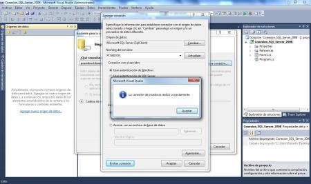SQL Server 2008 Comprobando Conexion